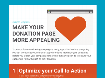 Make your donation page more appealing with the help of Salsa.