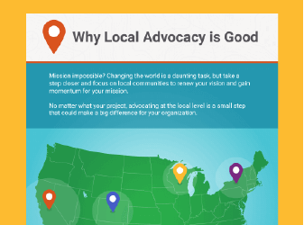 Learn why local advocacy is good with Salsa.
