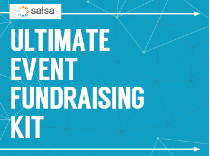 Take a look at Salsa's ultimate event fundraising kit.