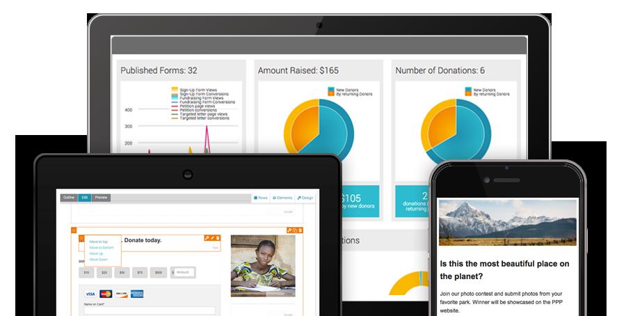 Nonprofit Marketing Software Screenshot