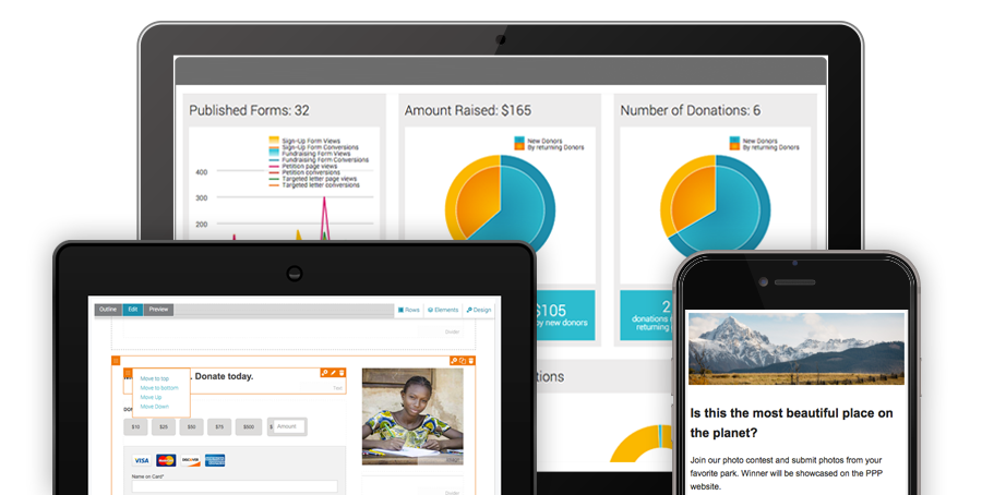 Salsa's Nonprofit Marketing Software can aid your organization.