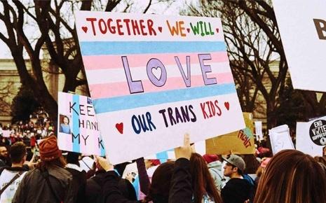PFLAG Protest