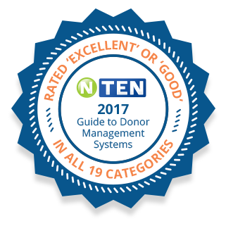 Salsa's donor database system was rated excellent in all 19 categories for NTEN's 2017 Guide to Donor Database Systems.