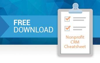 Nonprofit CRM Cheatsheet