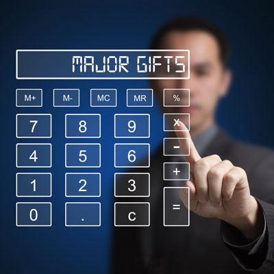 major gifts calculator