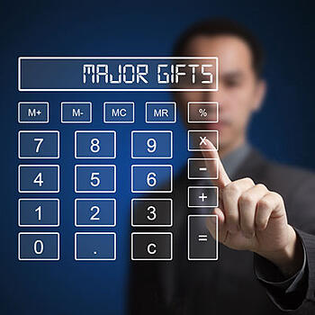 major gifts calculator