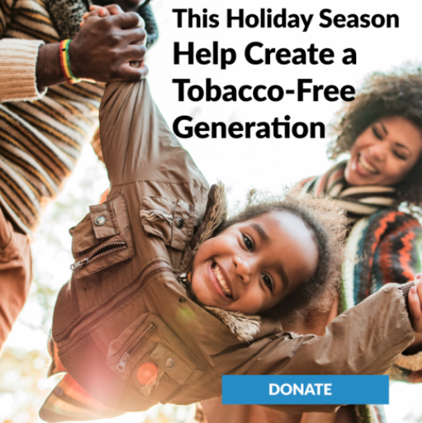 20201229 - Blog - Nonprofit Fundraising Call to Action - Tobacco Free Kids