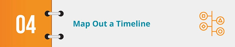 A timeline will keep your advocacy campaign on track.