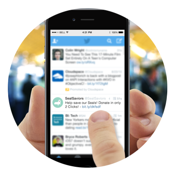 Twitter Mobile Fundraising Advocacy