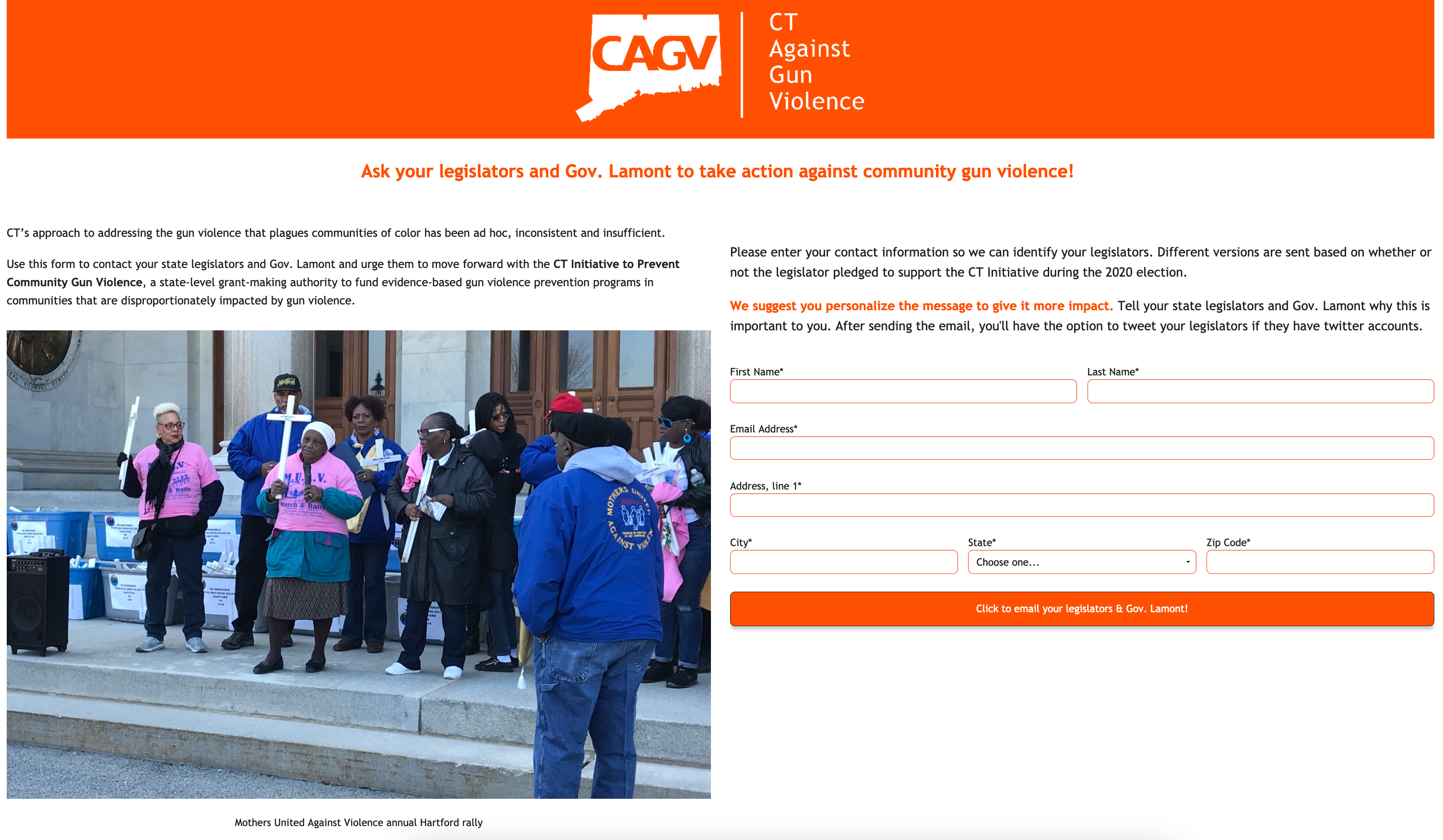 Best Advocacy Campaign Examples - CAGV