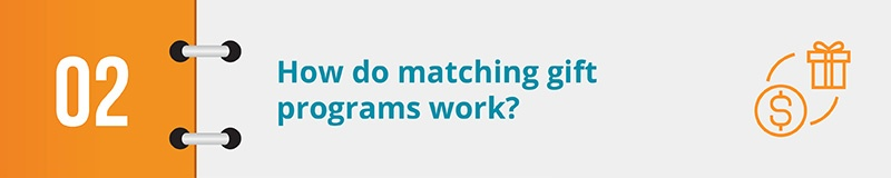 How do matching gift programs work?