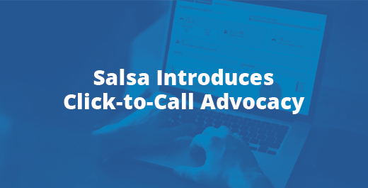 Click to Call Advocacy Announcement