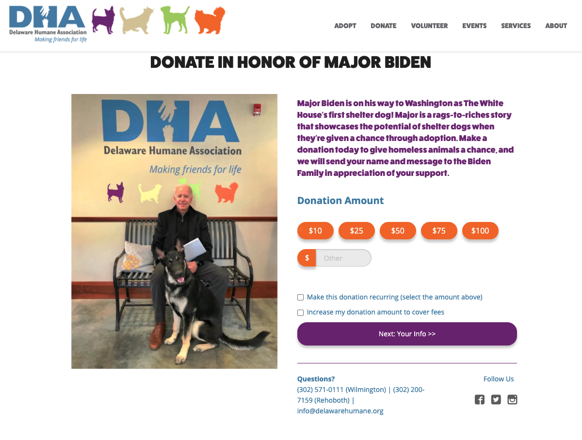 Case Study - Delaware Human Association - Indoguration 1