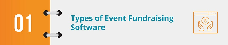 What kind of event fundraising software are you looking for?