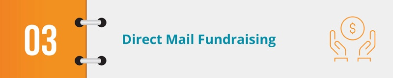 Your fundraising CRM should help with your direct mail fundraising.