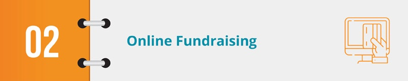 Your fundraising CRM should help your online fundraising efforts.