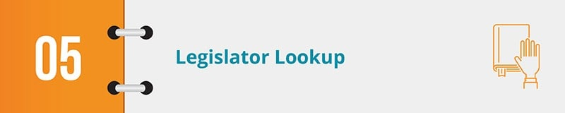 Ensure your grassroots advocates can find their legislators with your grassroots advocacy software solution.
