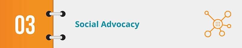 Your grassroots advocacy software should integrate with your social media profiles.