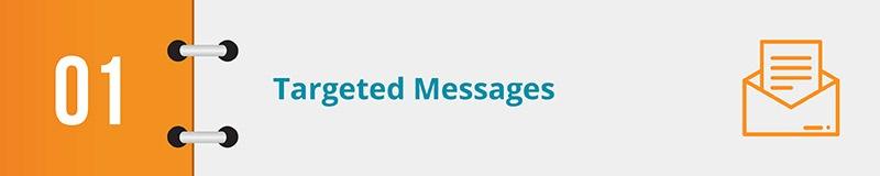 The best grassroots advocacy software will allow you to send targeted messages to stakeholders.