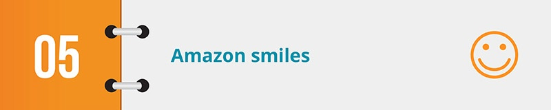Take a look at Amazon Smiles for your next online fundraising idea.