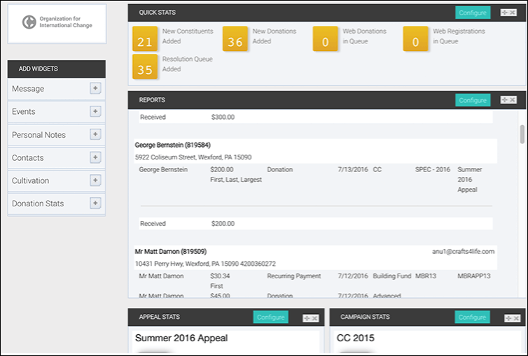 See how your CRM's reports can help you identify regain lapsed donors.