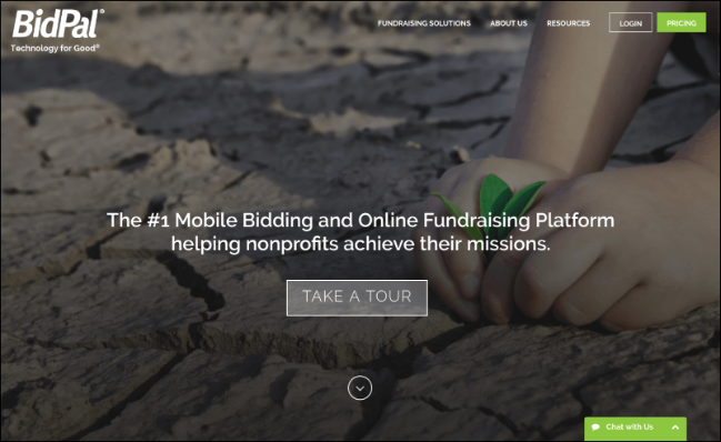 Check out BidPal's online fundraising software.