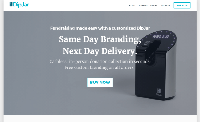 See how DipJar's online fundraising tool can help your organization raise money.