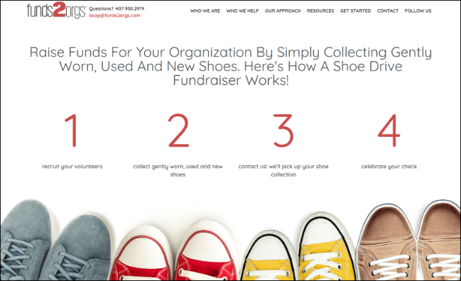 Check out Funds2Orgs and see how their online fundraising tool can help your organization.