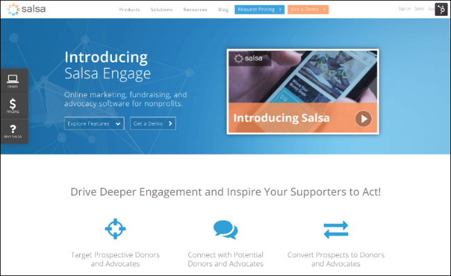 Check out Salsa Engage and what it can do for your organization.