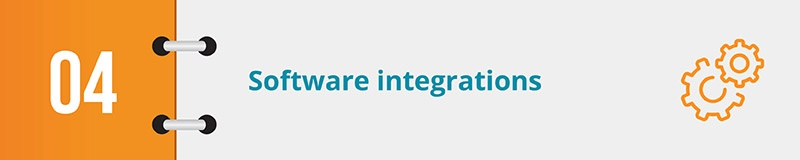 An essential feature of your nonprofit CRM to review is software integrations.