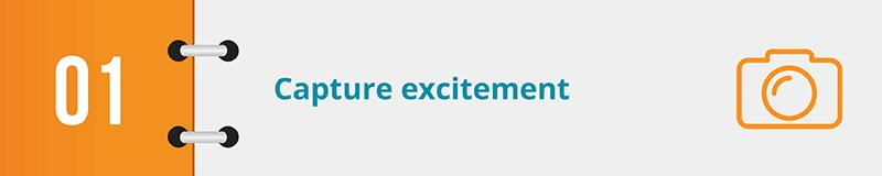 Capture excitement with your online petition form's title.