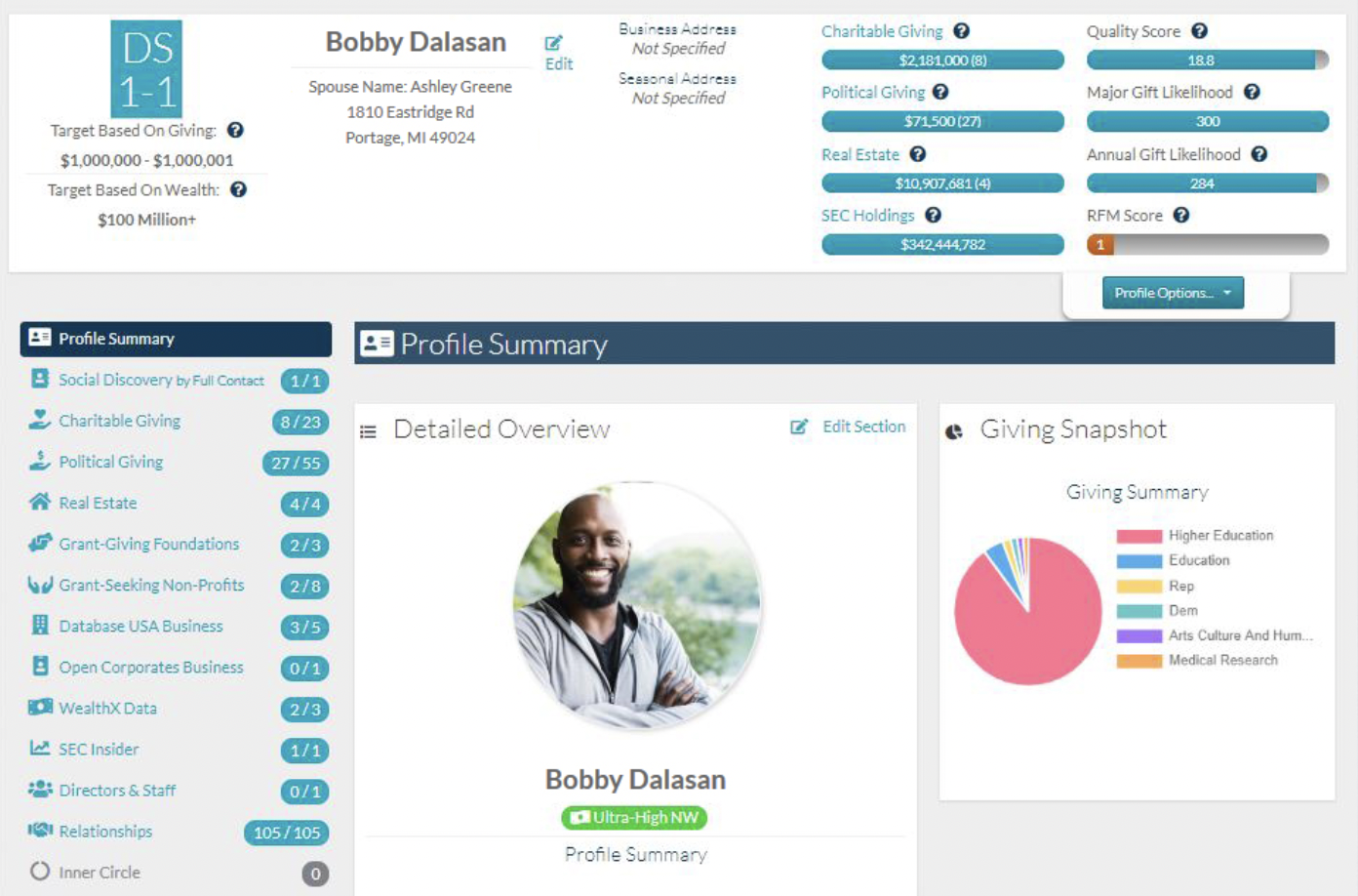 Salesforce Apps for Nonprofits - Image - DonorSearch