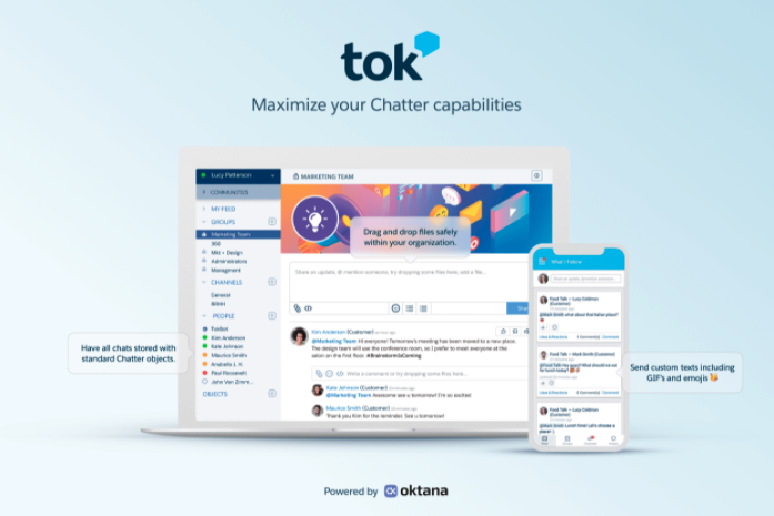 Salesforce Apps for Nonprofits - Tok
