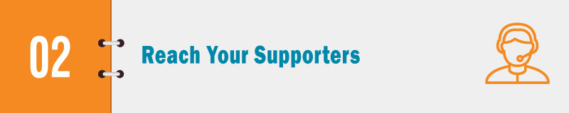 Leverage your Salesforce donor management software to reach your supporters.