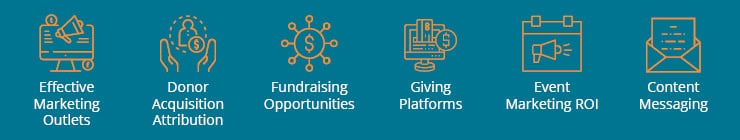 Salesforce fundraising campaigns can help you gain educational insights into many different strategy areas.