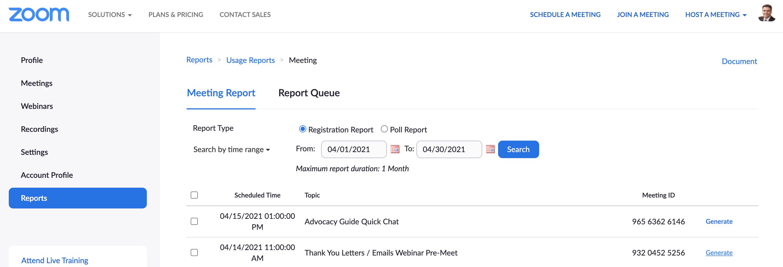 Salsa Labs - 13 Nonprofit Email List Building Techniques - Zoom Contacts