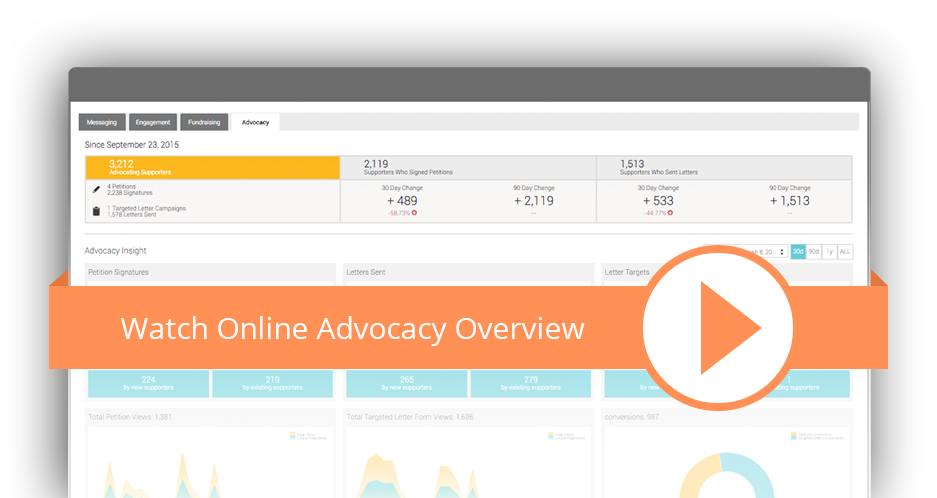 Online Advocacy Software