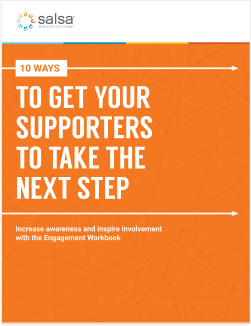 Workbook: 10 Ways To Get Your Supporters to Take the Next Step