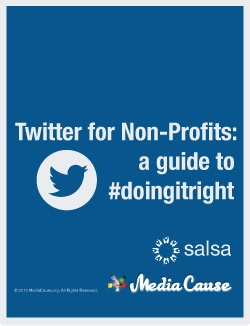 Twitter for Non-Profits: a guide to #doingitright