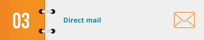 Review direct mail logistics tools, an essential nonprofit CRM feature.