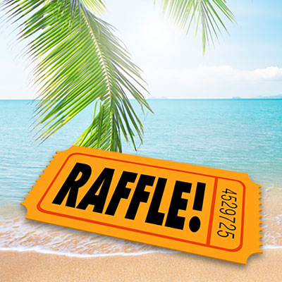 Try travel raffle to raise money.