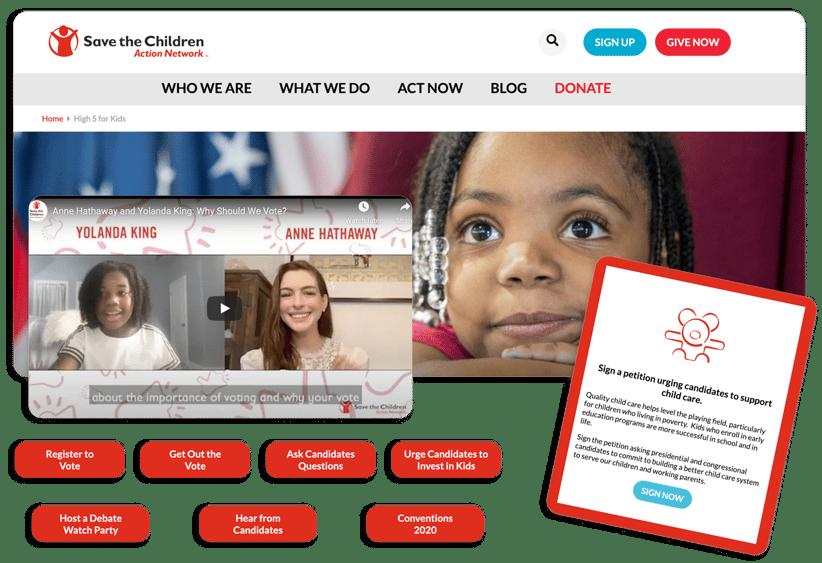 advocacy campaigns - 01 - donation form
