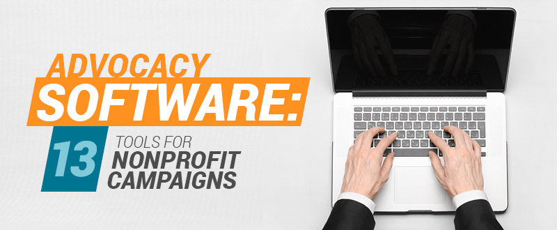 Check out our top advocacy software for nonprofits.