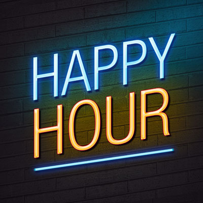 Host an alumni happy hour to raise money for your university.