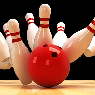 "Host a ""Bowling for Bucks"" fundraiser to raise money."