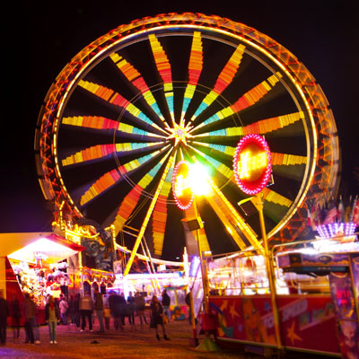 Host a campus carnival as your next fundraising idea.