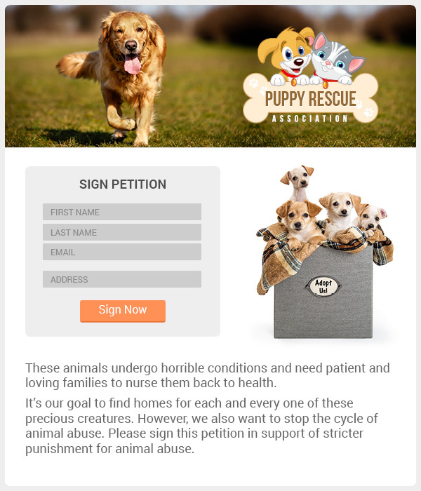 Create customized petitions for your grassroots nonprofit marketing campaign, then use action alerts to spread the word.