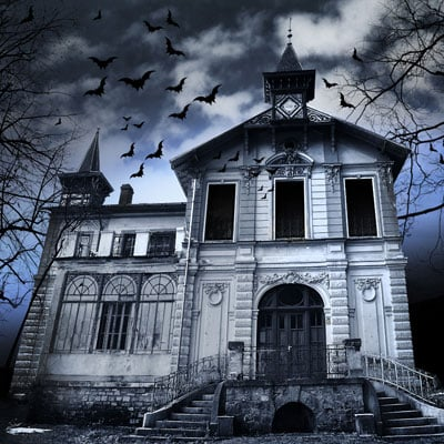 Set up a haunted house as your next fundraising idea to raise money for your school.