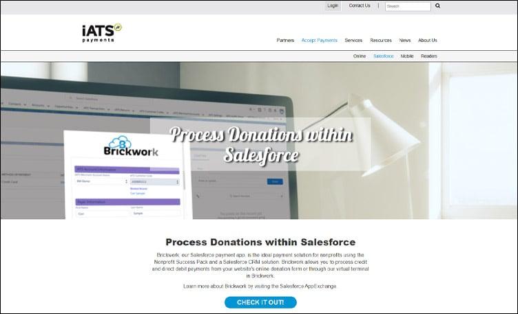 iATS_Salsa_Salesforce Apps_Screenshot