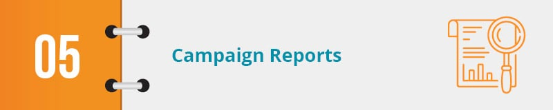 Check out this nonprofit advocacy example for campaign reporting.